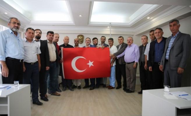 Afşin'de Barış Pınarı Harekatı'na Destek