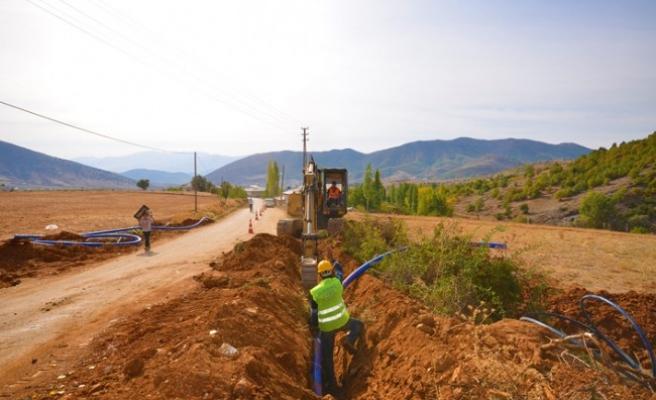 Esenköy'de İçme Suyu Çalışmaları Tamamlanıyor