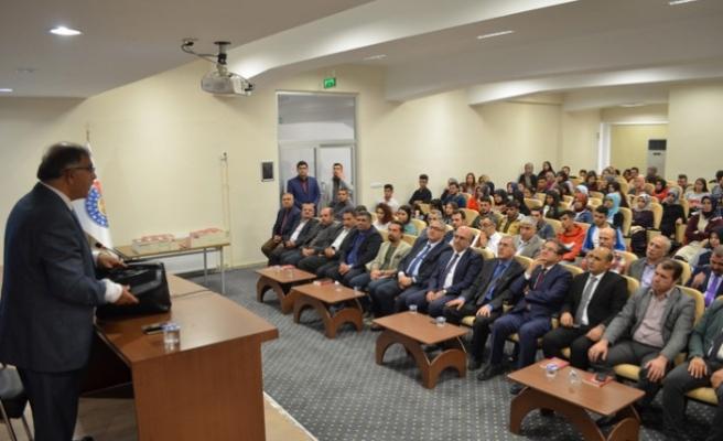 Pazarcık MYO'da Konferans Düzenlendi