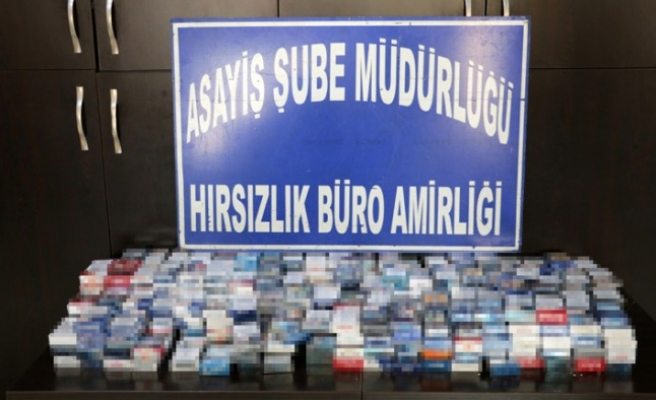 Sigara Hırsızları Tutuklandı