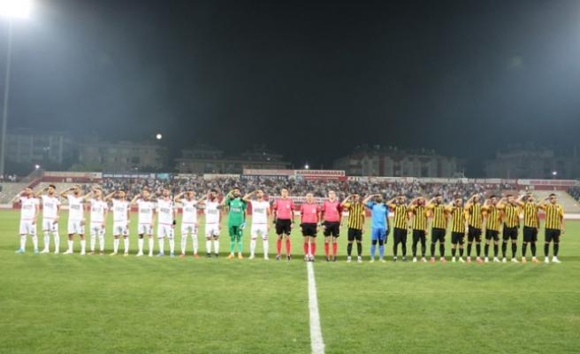 TFF 2. Lig: Kahramanmaraşspor: 1 - Bayburt Özel İdare Spor: 1
