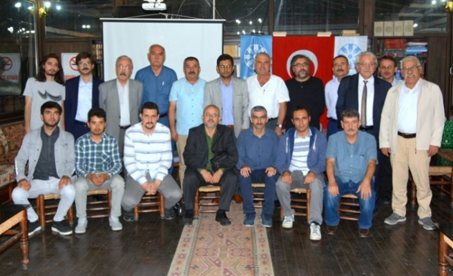 TYB Kahramanmaraş Şubesi Bahaettin Karakoç'u Yâd Etti