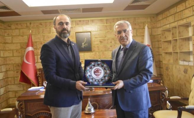 Uluslararası Bocce Federasyonu Başkanı KSÜ'yü Ziyaret Etti