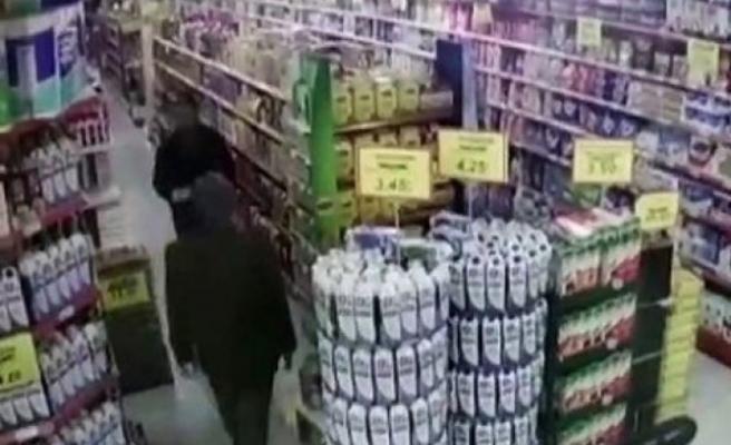 Afşin'de Market Hırsızı 3 Kişi Yakalandı
