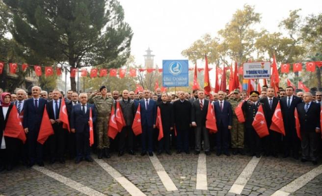 Bayrak Olayı'nın 100. Yılı Kutlandı
