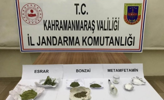 Kahramanmaraş'ta Uyuşturucu Operasyonu: 9 Gözaltı
