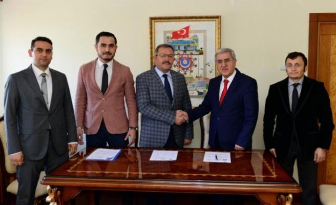 KSÜ Ve Göksun Belediyesi Arasında İşbirliği