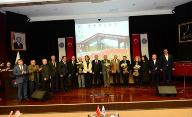 KSÜ Öğretmenler Gününü Coşku İle Kutladı