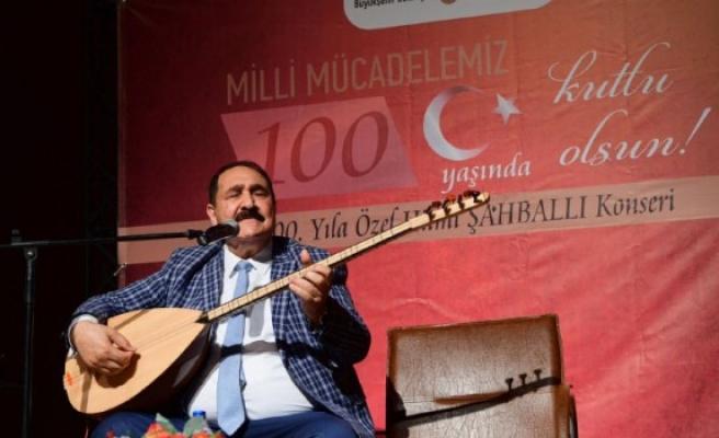 Şahballı'dan 100. Yıl Konseri