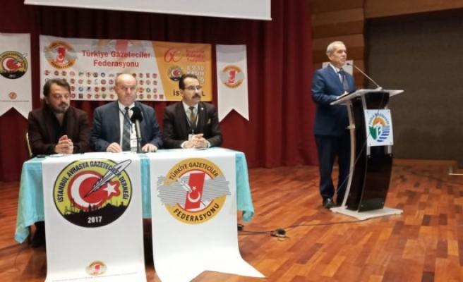 """TGF Genel Başkanı Karaca; """"Anadolu Basını Bitirilmeye Çalışılıyor"""""""