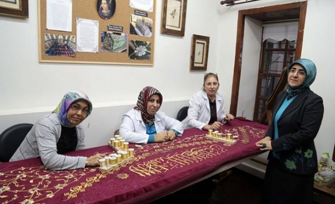 Kösem Sultan'ın Puşidesi Kahramanmaraş'ta İşleniyor