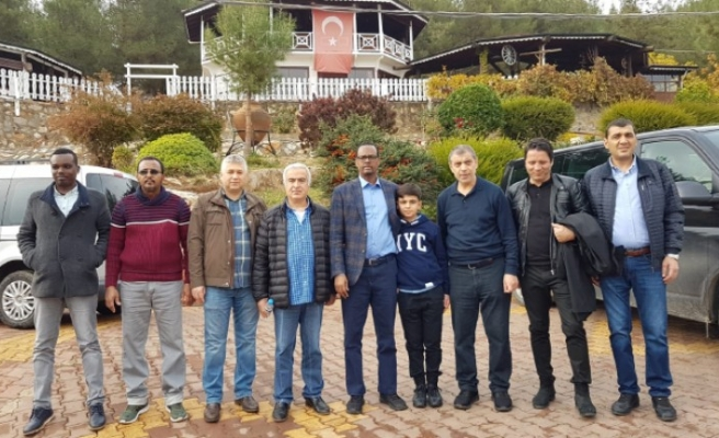 Somali Büyükelçisi MADO'yu Çok Sevdi
