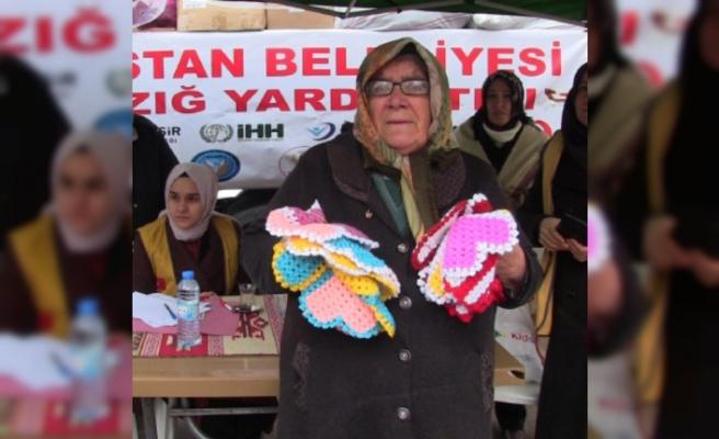 Elbistan'da Elazığ'a Yardım Kampanyası Düzenlendi