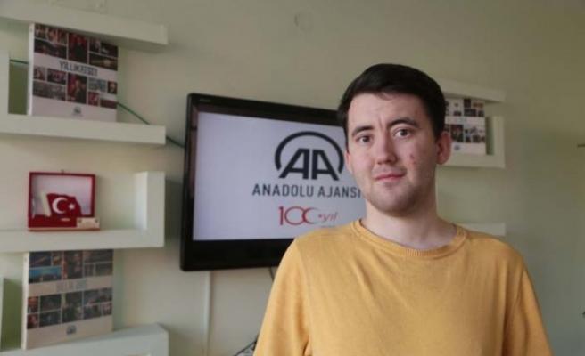 Engelli Sporcu Enes Altın Kahramanmaraş'ı Ziyaret Etti