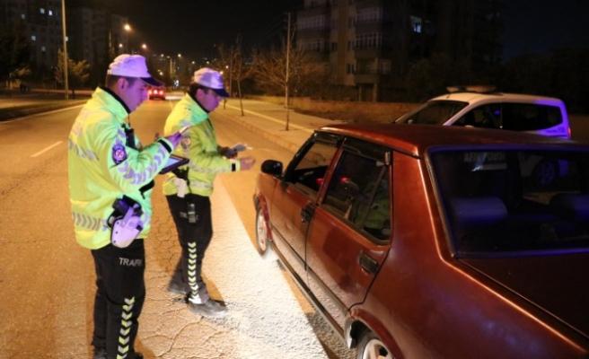 Kahramanmaraş'ta Sürücülere Denetim