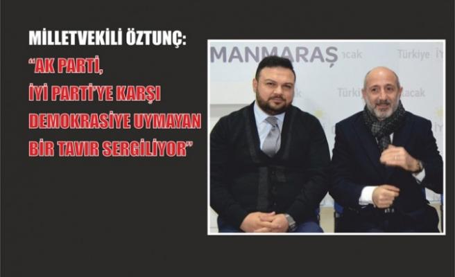 Milletvekili Öztunç'dan İYİ Parti'ye Hayırlı Olsun Ziyareti