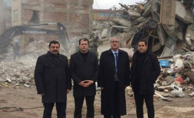 Pazarcık'ta Depremzedeler İçin Yardım Seferberliği