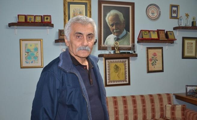 """Türk Edebiyatının """"Beyaz Kartal""""ı Bahaettin Karakoç'u Eserleriyle Yaşatıyorlar"""