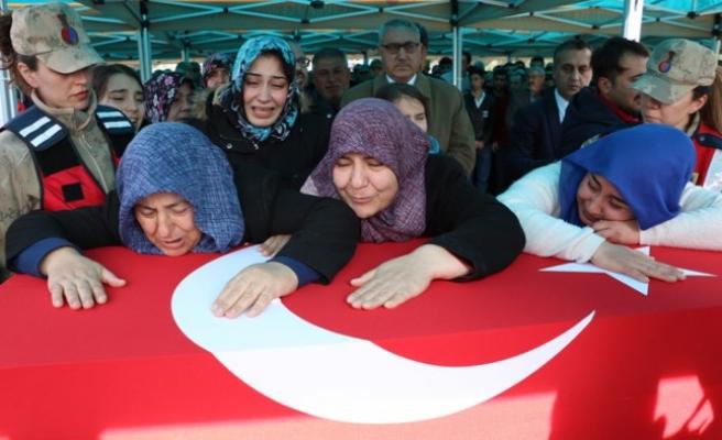 İdlib Şehidi Soner Enes Baykuş Dualarla Son Yolculuğuna Uğurlandı