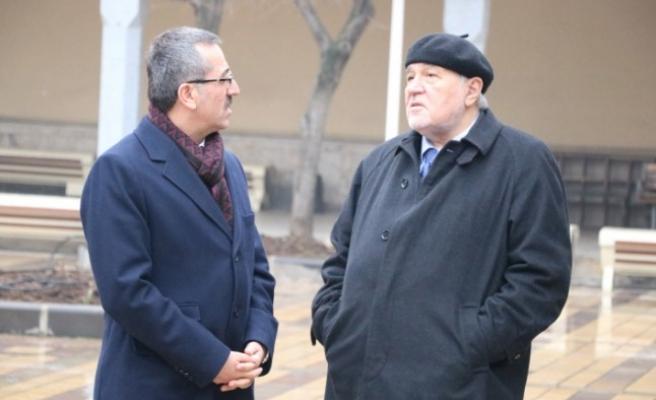 İlber Ortaylı Kahramanmaraş'a Ziyaret Etti