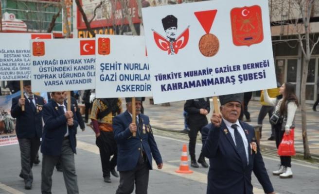 Kahramanmaraş'ın Kurtuluşunun 100. Yılında Kortej Yürüyüşü Yapıldı