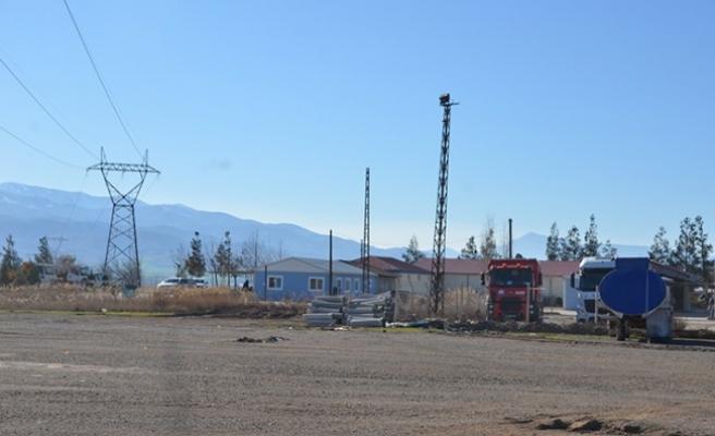 Kahramanmaraş'ta Asfalt Şantiyesinde Çalışan İşçi Elektrik Akımına Kapıldı