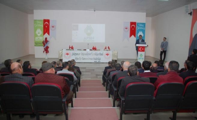 Afşin'de Şekerpancarı Yetiştiriciliği Paneli