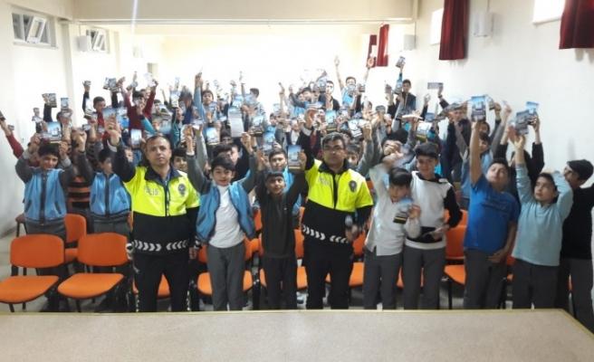 Kahramanmaraş'ta Öğrencilere Trafik Eğitimi