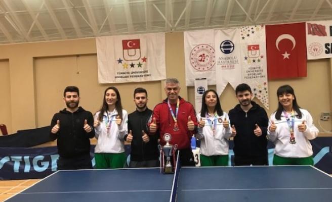 KSÜ Bayan Masa Tenisi Takımı, Süper Lige Yükseldi