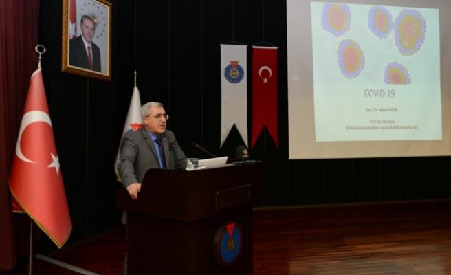 KSÜ'de Corona Virüs Enfeksiyonu Bilgilendirme Toplantısı Gerçekleştirildi