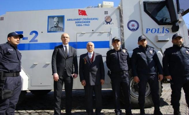 Milli Mücadele Kahramanı Arslanbey'in Oğlu Polisleri Ziyaret Etti
