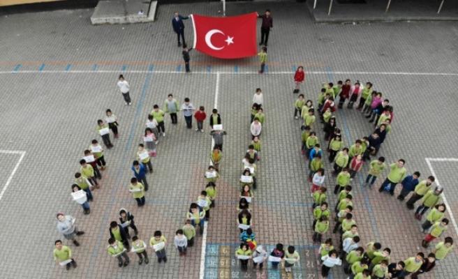 Öğrencilerden Bahar Kalkanı Harekatı'na Destek