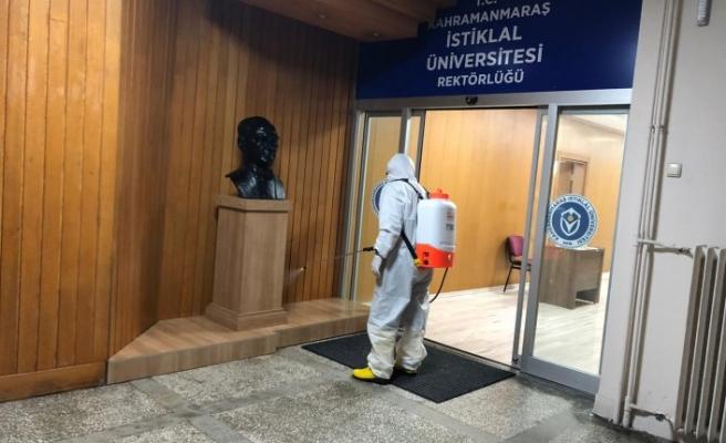 Onikişubat Belediyesi, Dezenfekte İşlemlerine Devam Ediyor