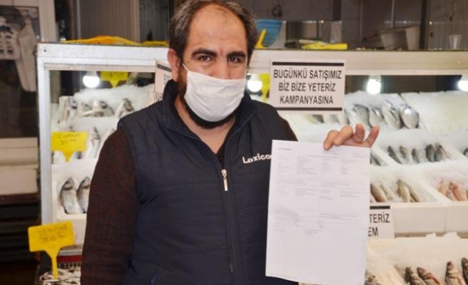 Balıkçı Bir Günlük Kazancını Milli Dayanışma Kampanyası'na Bağışladı