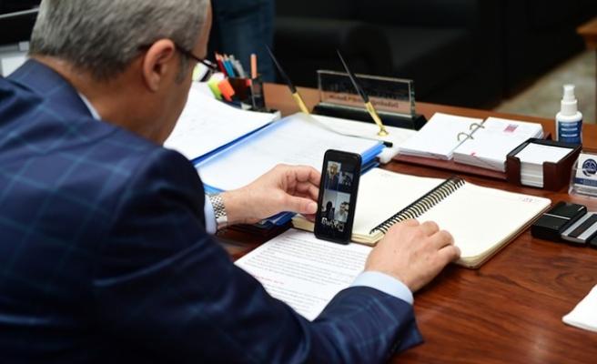 Başkan Okay Makamını Üçüncü Sınıf Öğrencisi İbrahim'e Devretti