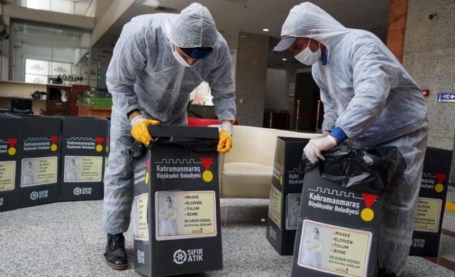 Büyükşehir Belediyesi Kişisel Hijyen Malzeme Atıklarına Dikkat Çekti