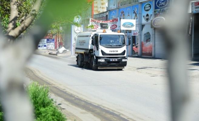 Dulkadiroğlu Belediyesi Sanayi Sitesine Özel Dezenfekte Çalışması Yaptı