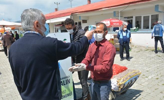 Göksun'da Belediye, Semt Pazarının Yerini Değiştirdi