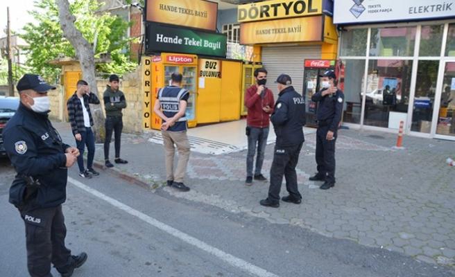 Kahramanmaraş'ta Satış Yapılan Tekel Bayisindeki 3 Kişiye Ceza