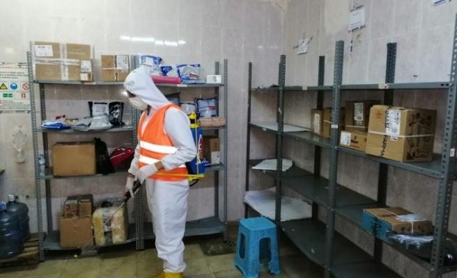 Onikişubat Belediyesi, Dezenfekte İşlemlerine Aralıksız Devam Ediyor