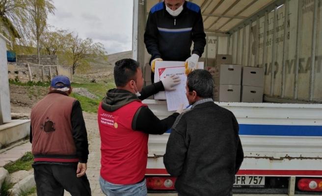 Elbistan'da Gıda Yardımları İhtiyaç Sahiplerine Ulaştırılıyor