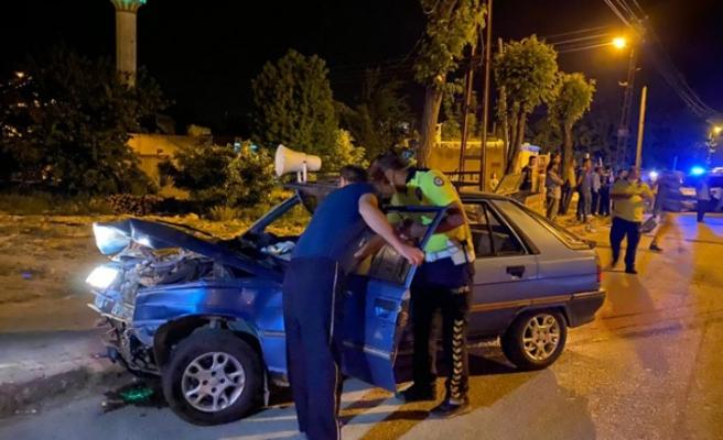 Feci Kaza! İki Otomobil Çarpıştı, Yaralılar Var
