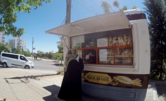 Halk Ekmek Büfeleri Bayram Süresince de Açık