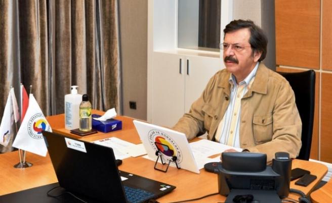 Hisarcıklıoğlu Video Konferansla KMTSO Meclisi'ne Katıldı
