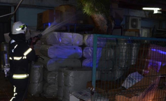Kahramanmaraş'ta Hastanede Yangın