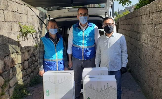 Onikişubat Belediyesinden Azerbaycanlı Öğrencileri Gıda Yardımı