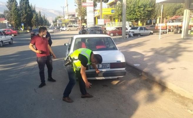 Kahramanmaraş'ta Polis 515 Araca İşlem Yaptı