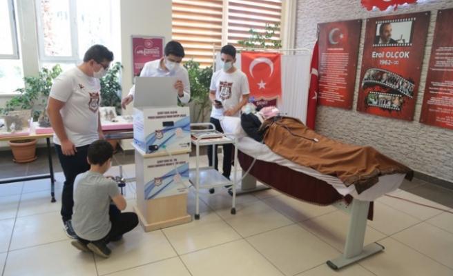 Selçuk Bayraktar'dan İlham Alan Öğrenciler, Solunum Cihazı Geliştirdi