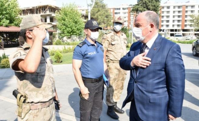 Vali Coşkun, Türkoğlu İlçesini Ziyaret Etti