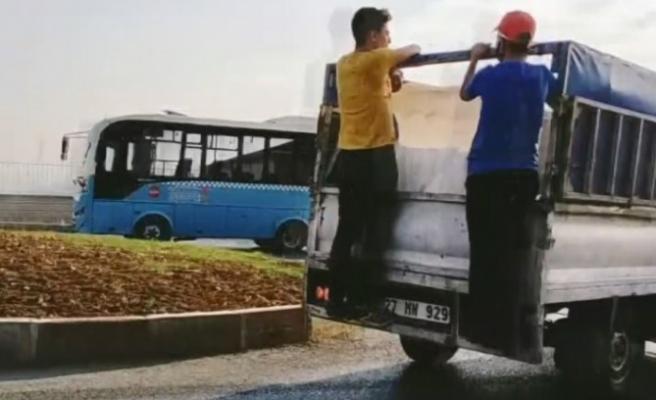 Araç Dışında Yolcu Taşıyan Sürücüye Cezai İşlem